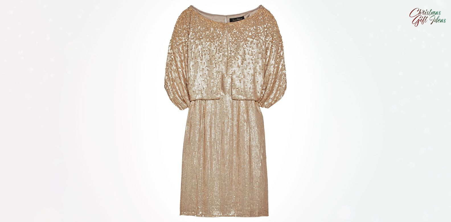 The Little Gold Dress You Need This Christmas