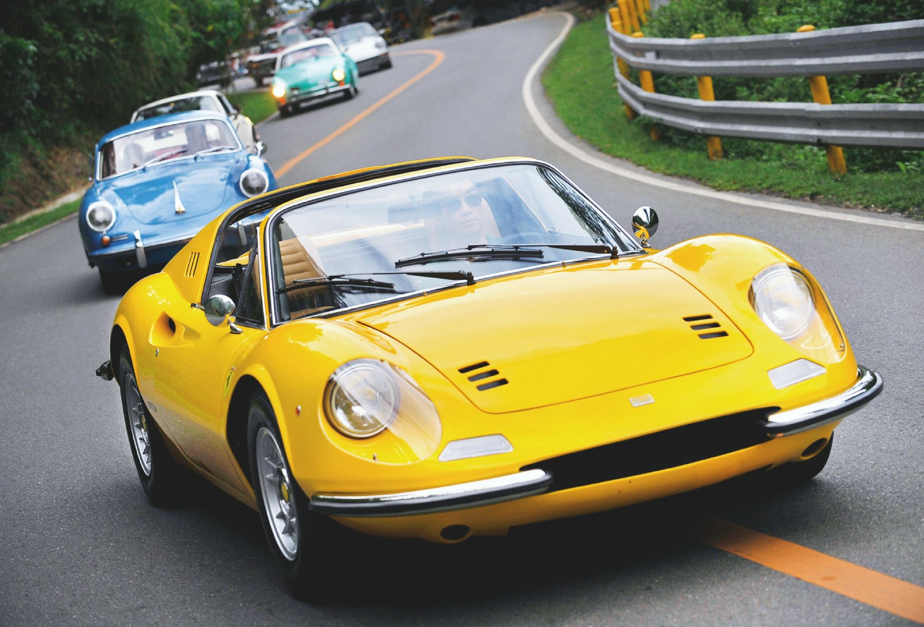 World's Best Drives: A Tropical Road Trip Through Cebu In A Vintage Ferrari Dino