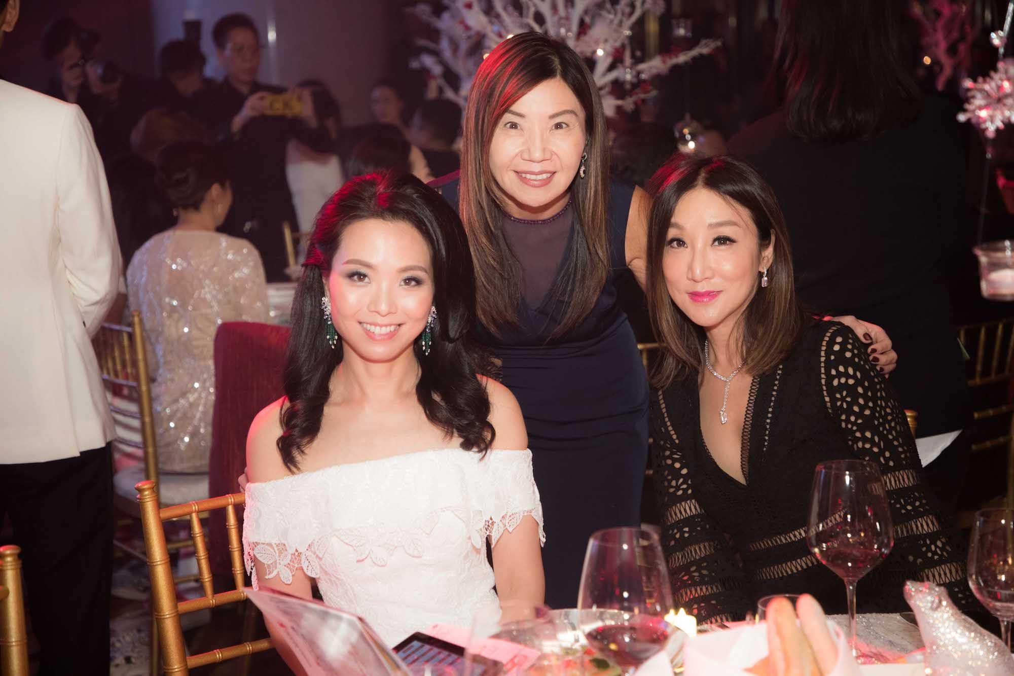 Anne Wang-Liu, Esther Ma, Jane Louey