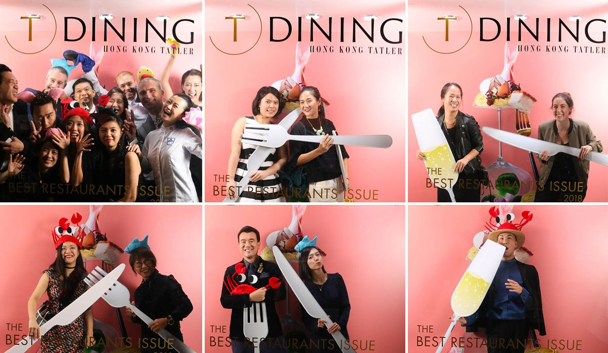 Your Best Shots From The #TDiningHK2018 Photobooth