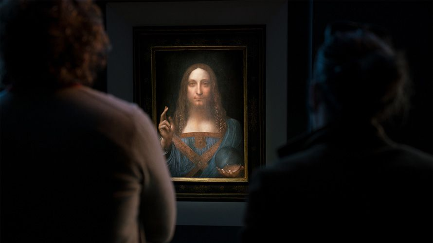 Leonardo Da Vinci's Salvator Mundi Sells For A Record US$450 Million