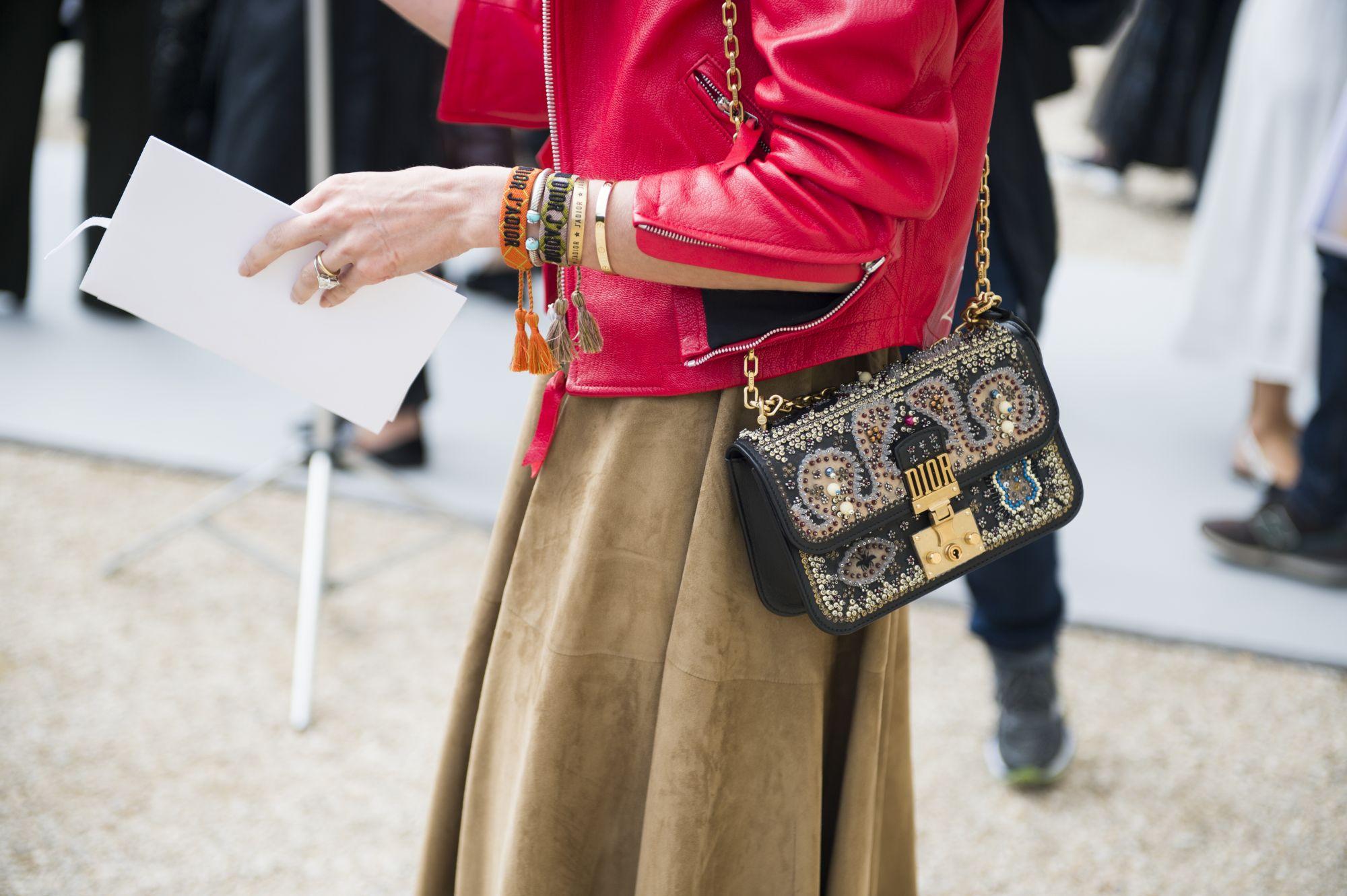 Insect Detail New Studded Velvet Women's Fashion Shoulder Bag