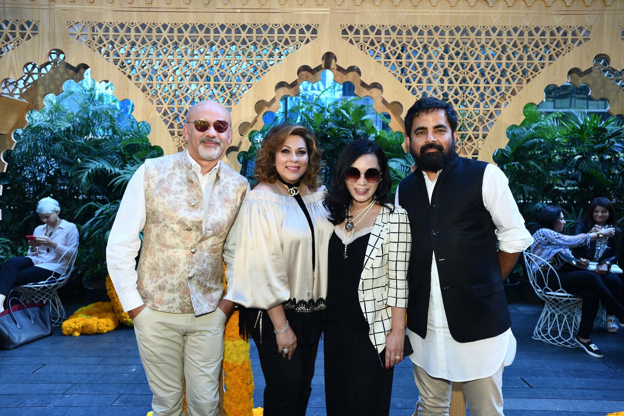 fde66a3f3db Christian Louboutin x Sabyasachi Capsule Collection Launch Party ...