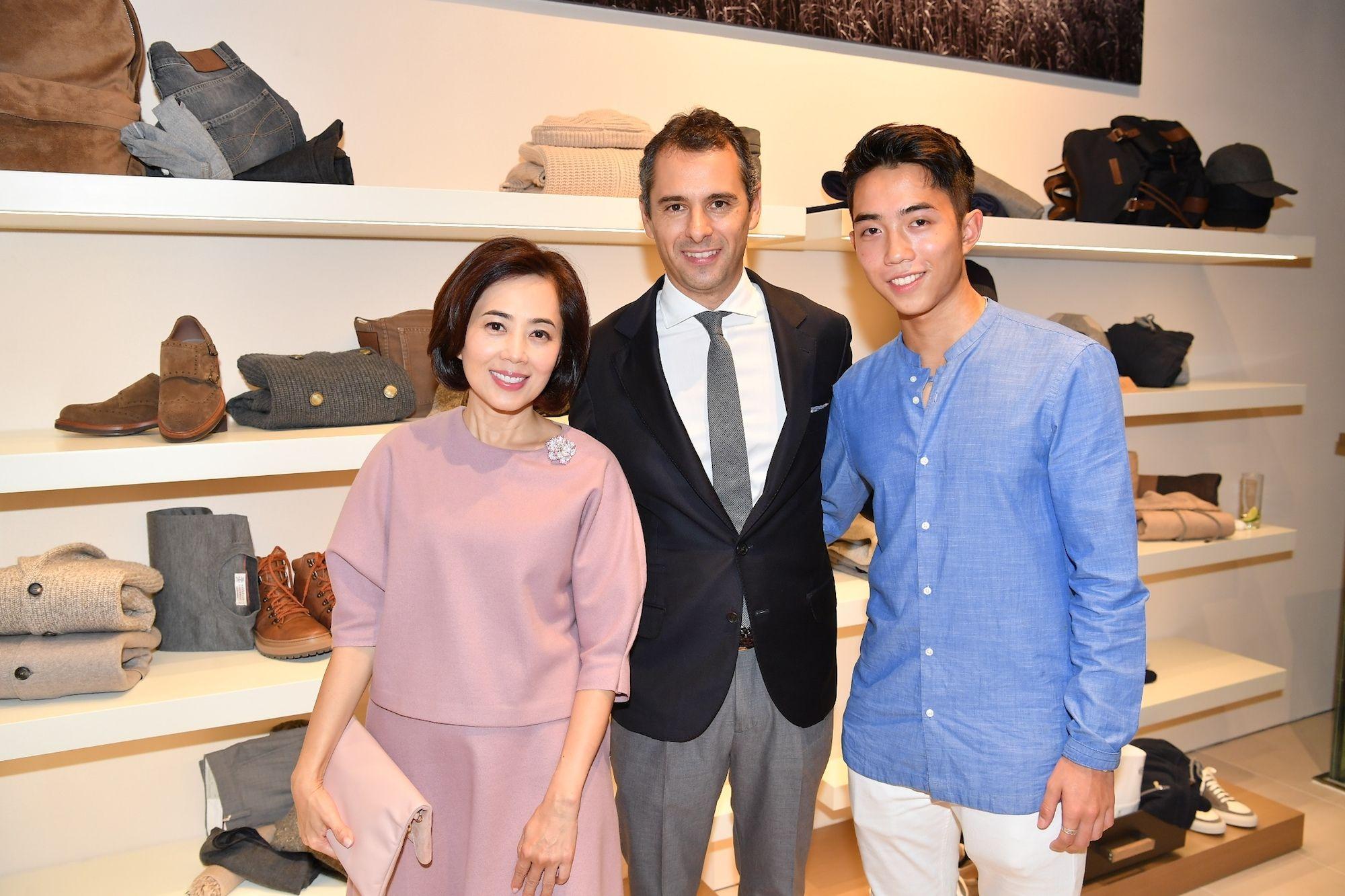 Cindy Yeung-Cheung, Luca Lisandroni, Jonathan Cheung