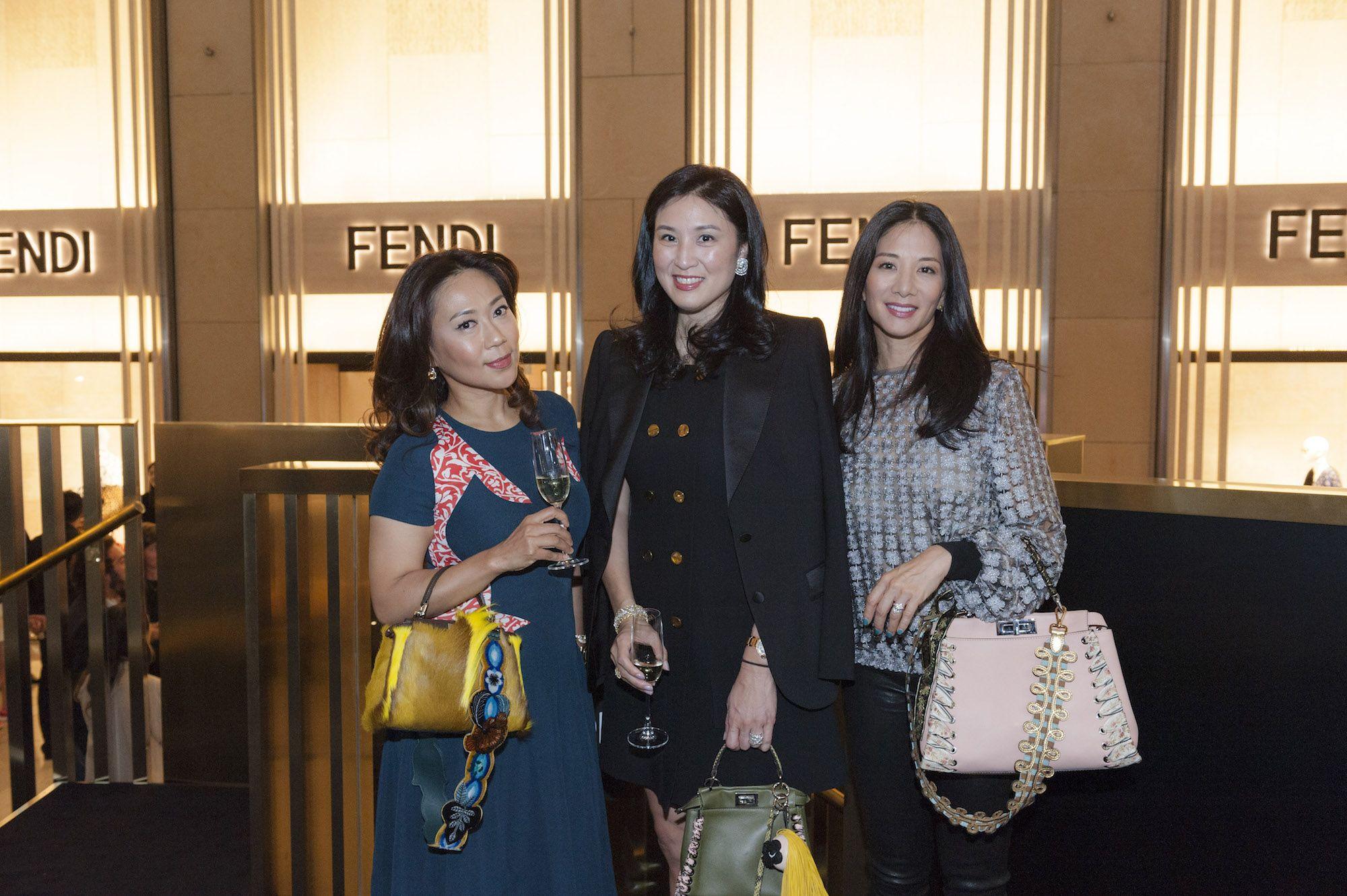 Sharie Ross-Tse, Leigh Tung-Chou, Audry Ai-Morrow