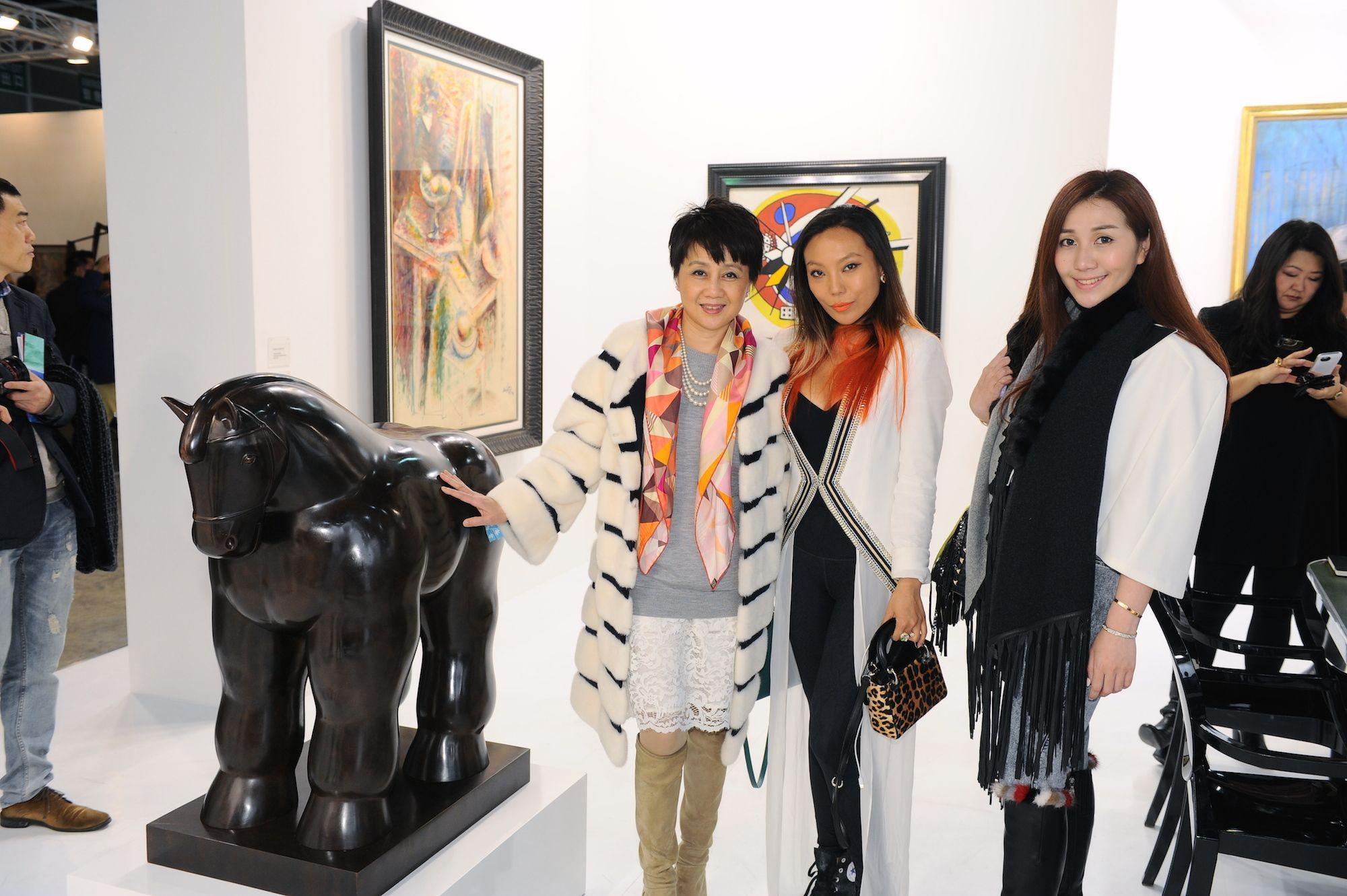 Angela Leong, Bao Bao Wan and Sabrina Ho