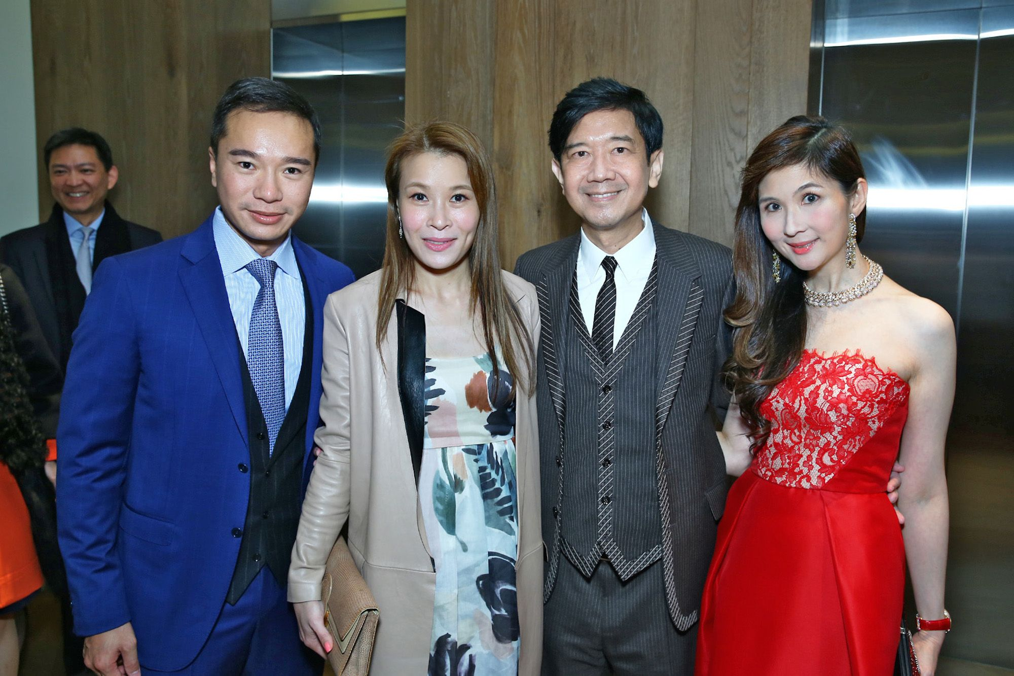 Tenniel Chu, Carmen Chu, Dickson Poon and Pearl Poon