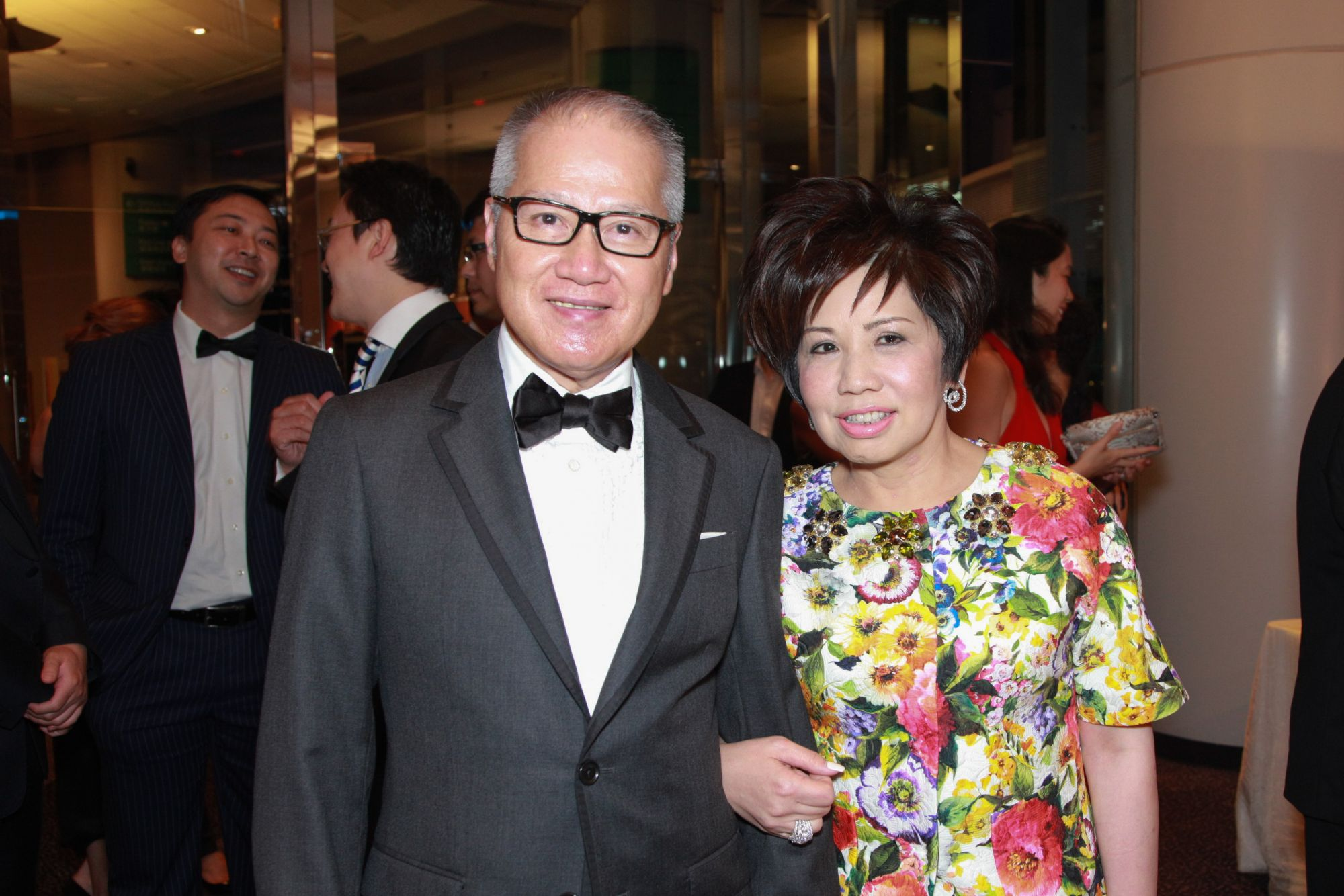Simon Kwok and Eleanor Kwok