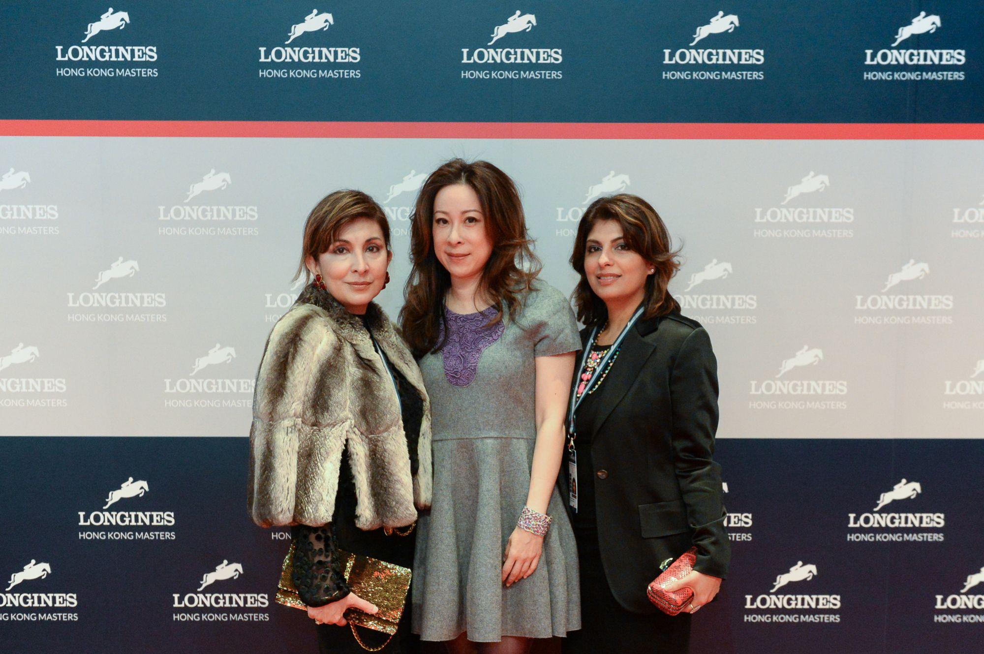 Shirley Hiranand, Janice Chan-Choy and Reyna Harilela