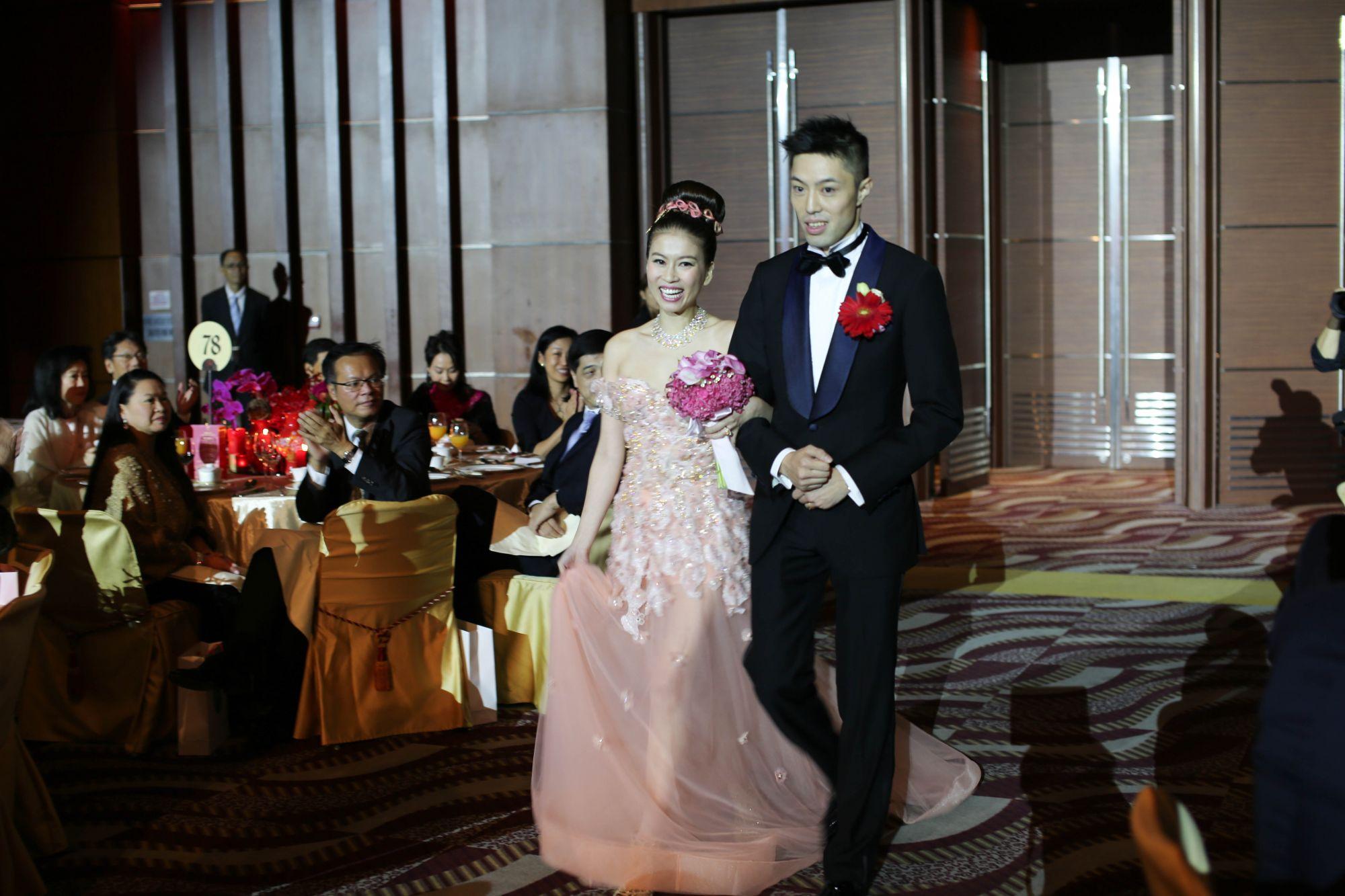 Sandee Lam and Ryan Sun