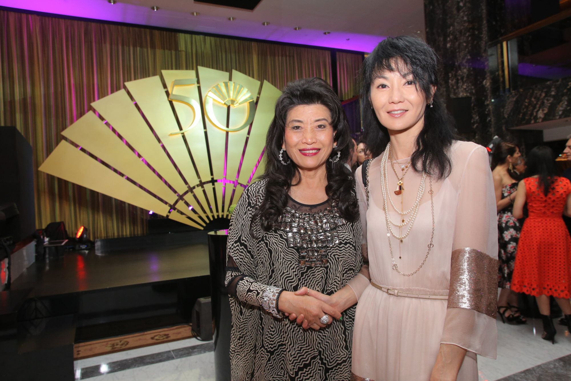 Alice Chiu and Maggie Cheung
