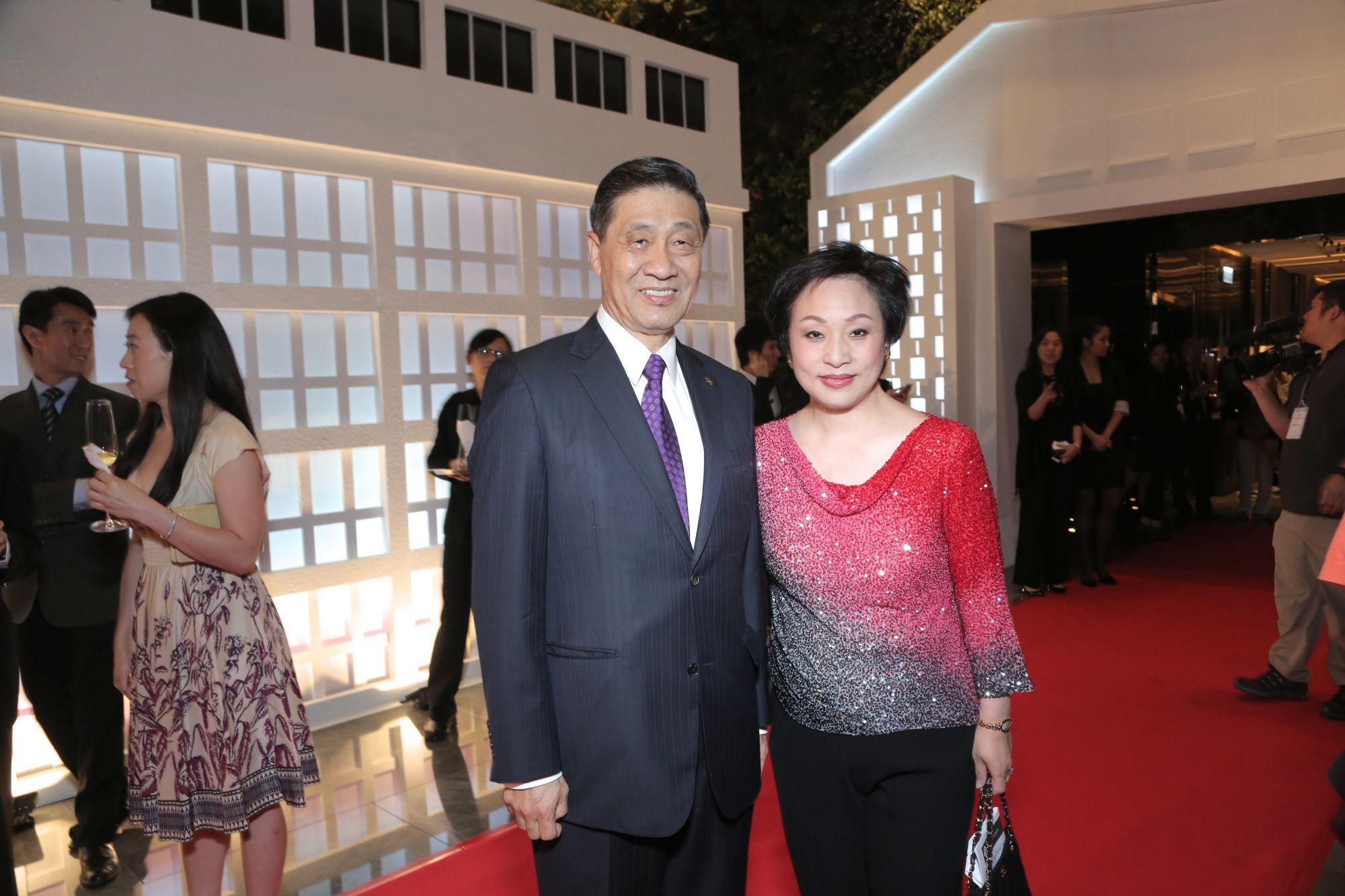 Patrick Poon and Nina Lam