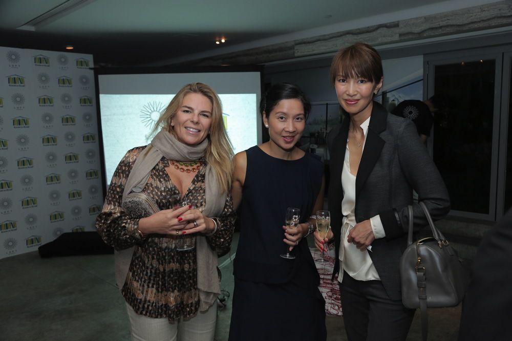 Kate Wilson, Camellia Tan and Yolanda Choy-Tang