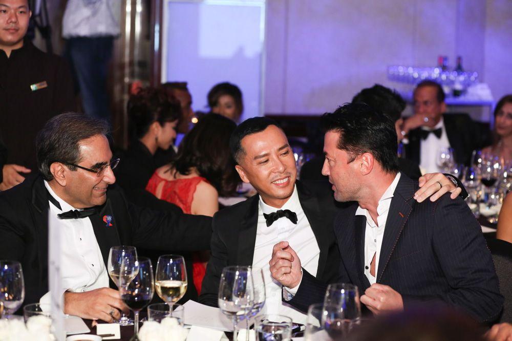 David Harilela, Donnie Yen and Michael Wong
