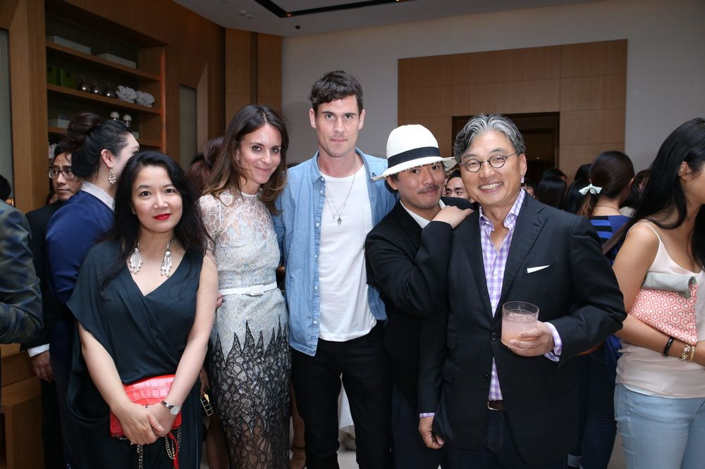 Ling Weng, Alison Loehnis, Miles Freeland, Melvin Chua and David Chu