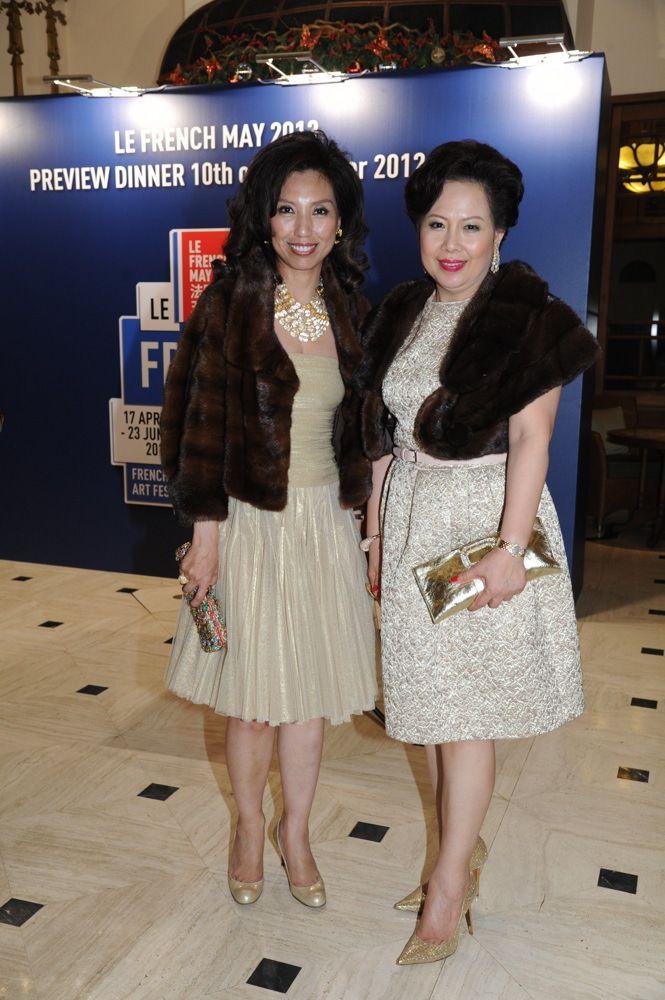 Josephine Liang and Irene Tang