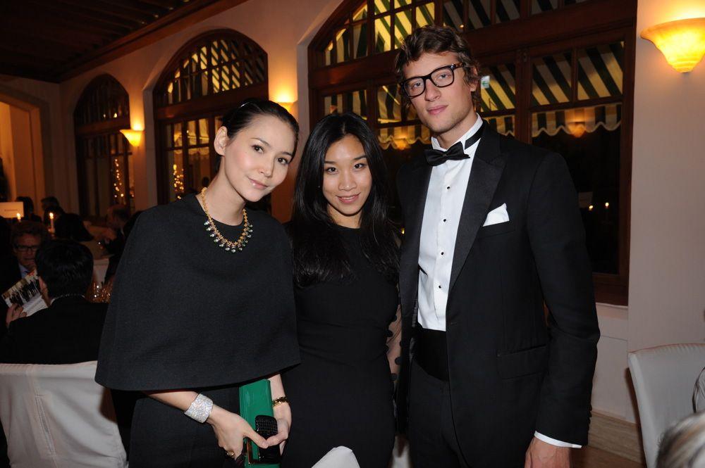 Amanda Strang, Dee Poon and Arthur de Villepin