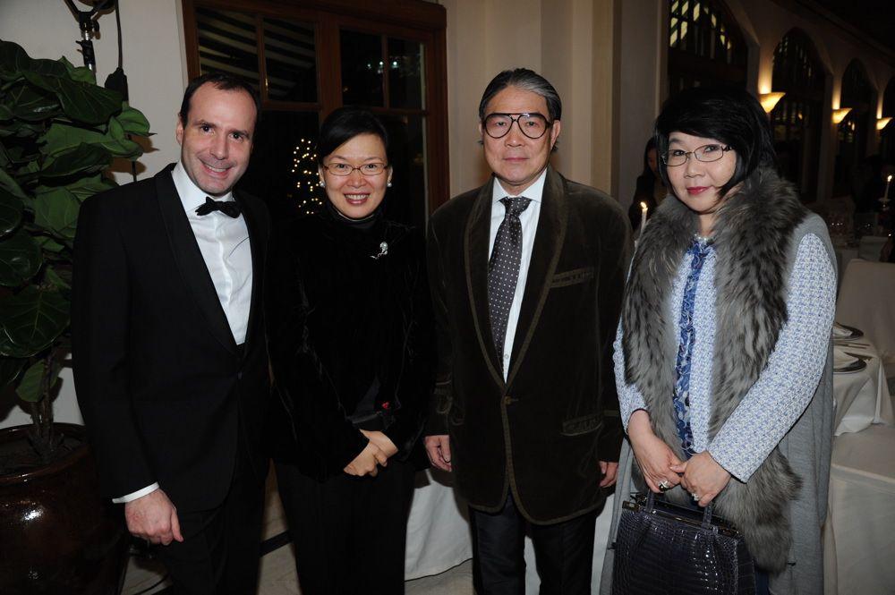 Arnaud Barthélémy, Florence Hui, Timothy Fok and Janice Choi