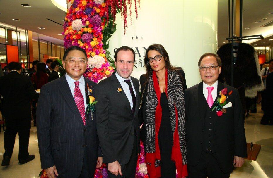 David Hong, Arnaud Barthelemy, Elisa Ghigo and Joseph Leung