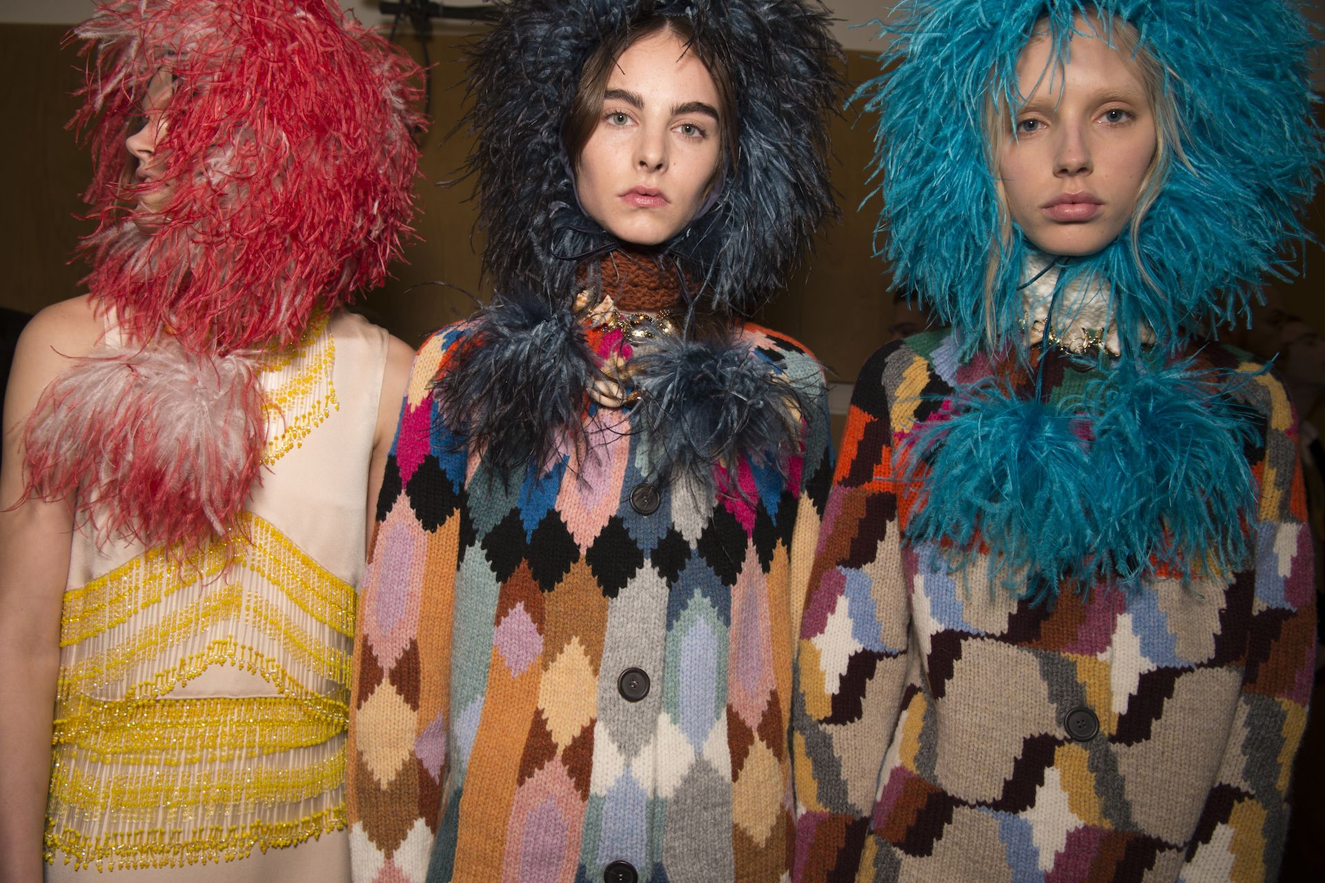 6 Ways To Wear Feathers This Fall