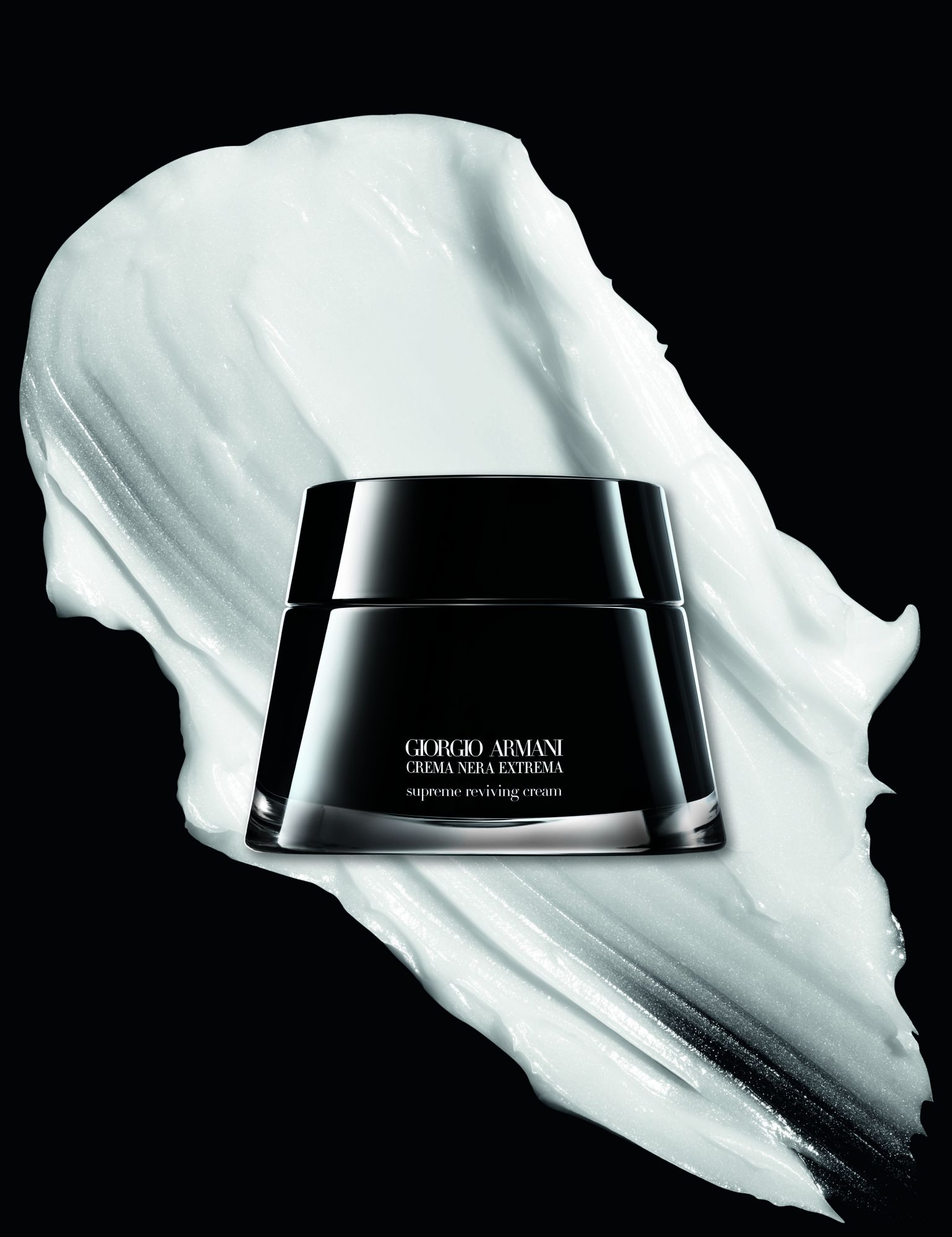 First Look: Armani Beauty CREMA NERA Limited Edition 10th Anniversary Anti-Ageing Cream