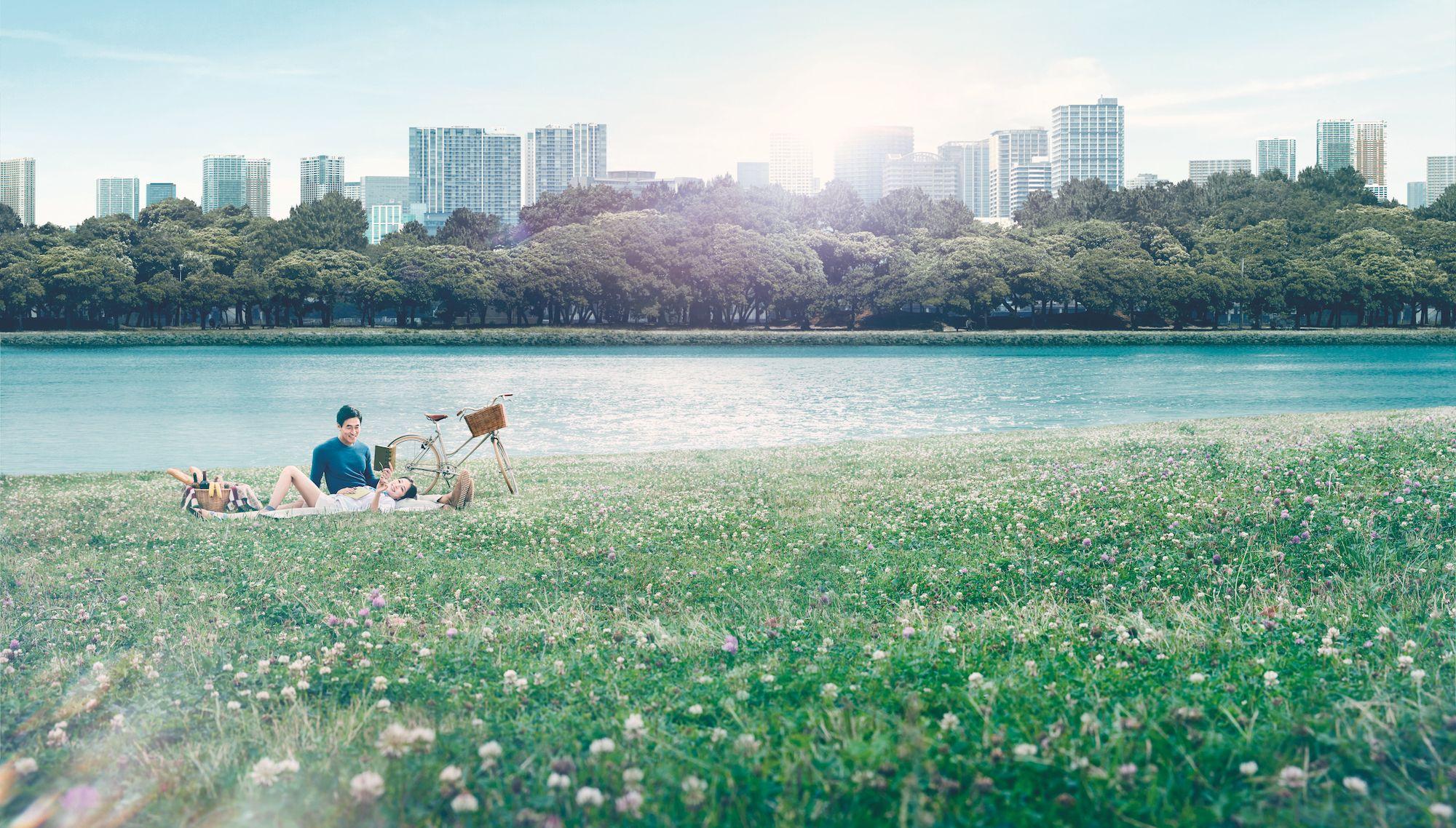First Look: Luxurious & Serene Riverside Living At Oasis Kai Tak