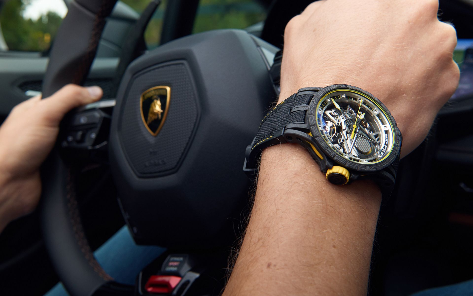 First Look: Roger Dubuis Partners With Lamborghini Squadra Corse
