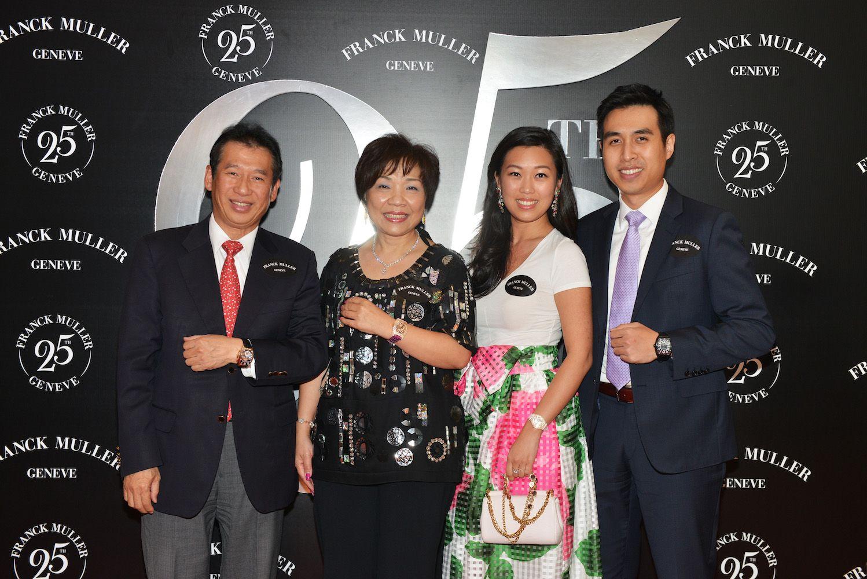 Nicholas Chu, Pollyanna Chu, Kelly Lo, Kingston Chu