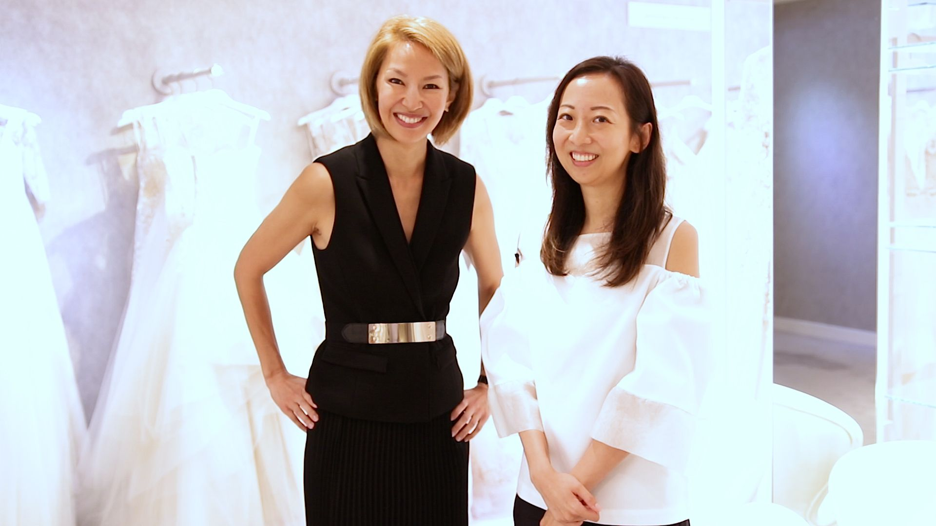 Video: 40 Seconds with Yolanda Choy-Tang and Carolyn Chow