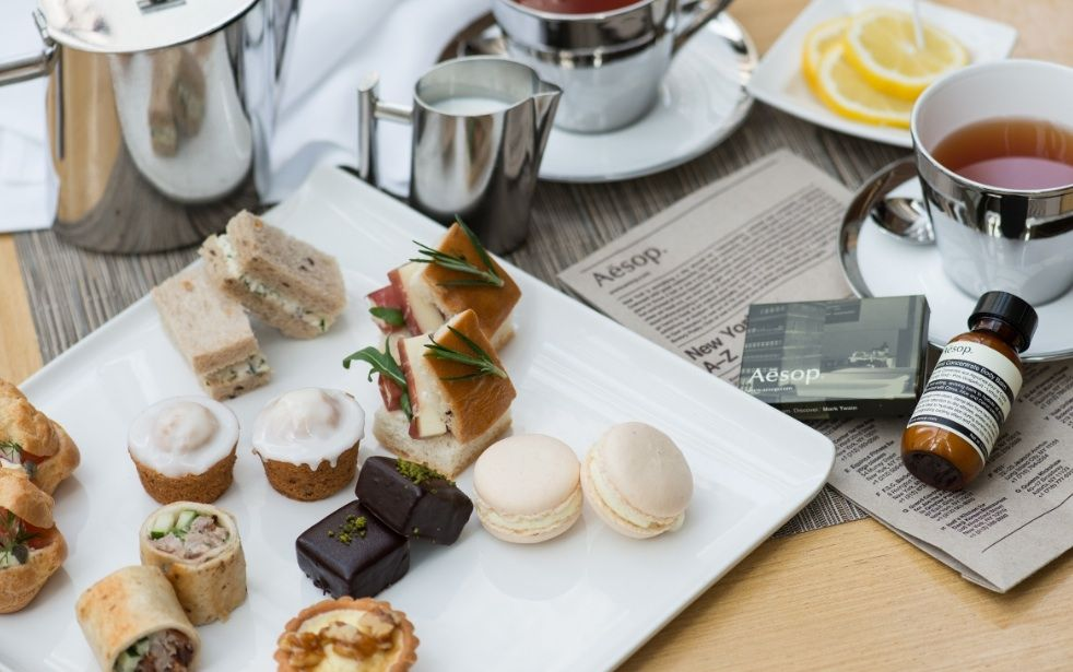 Aesop Afternoon Tea at Feast Cafe