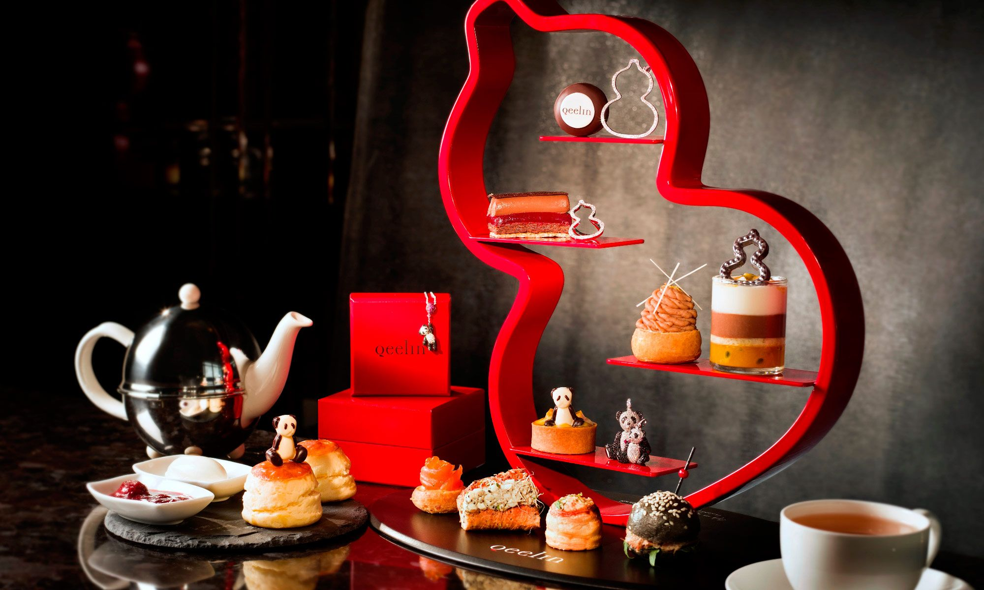 The Ritz-Carlton Launches Qeelin Afternoon Tea This September