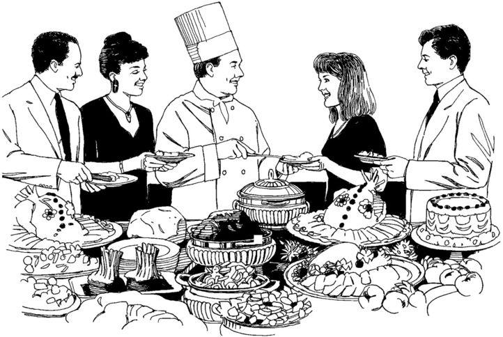 Tatler Tips: Buffet Etiquette For The Modern Glutton