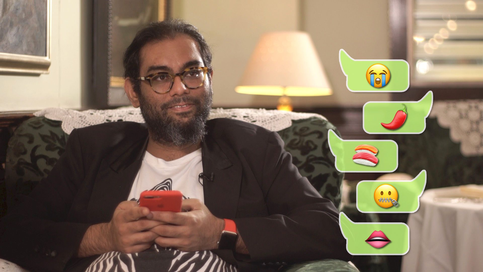 Emoji Speak with Gaggan Anand
