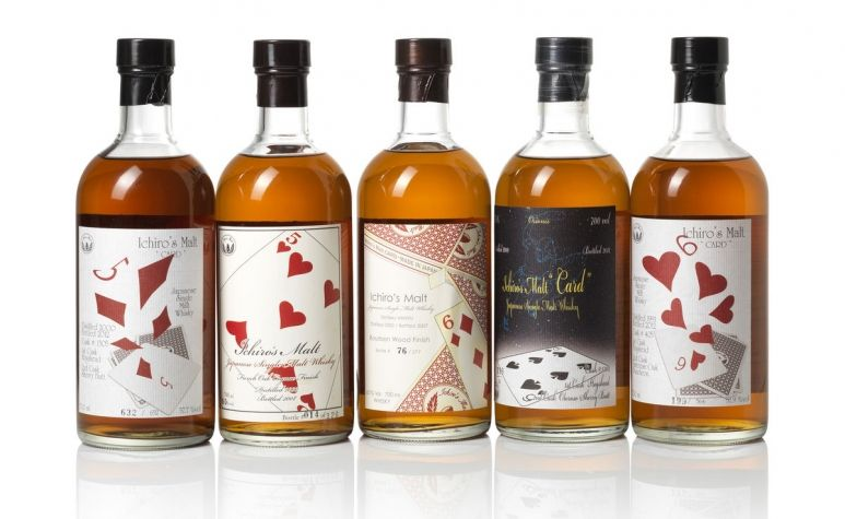 Whisky Watch: Bonhams to Auction Complete Set of Hanyu Ichiro's Playing Card Single Malts