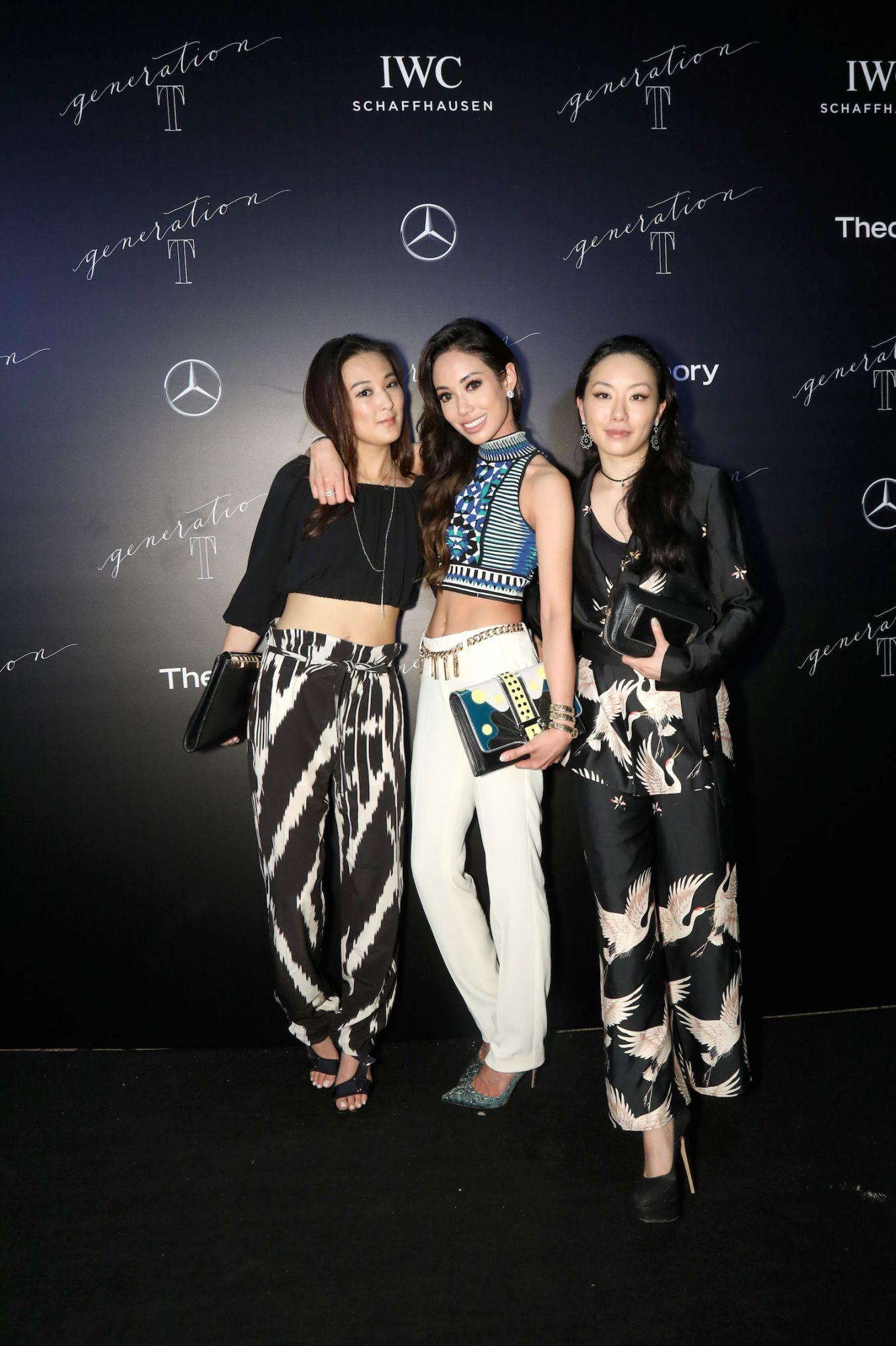 Antonia Li, Yen Kuok and Ruth Chao