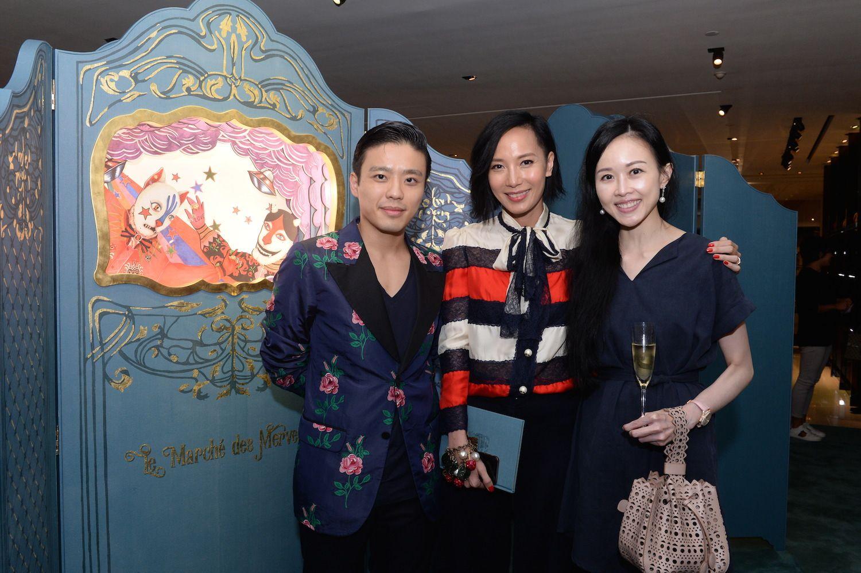 Jonathan Cheung, Jaime Ku and Jacqueline Chow