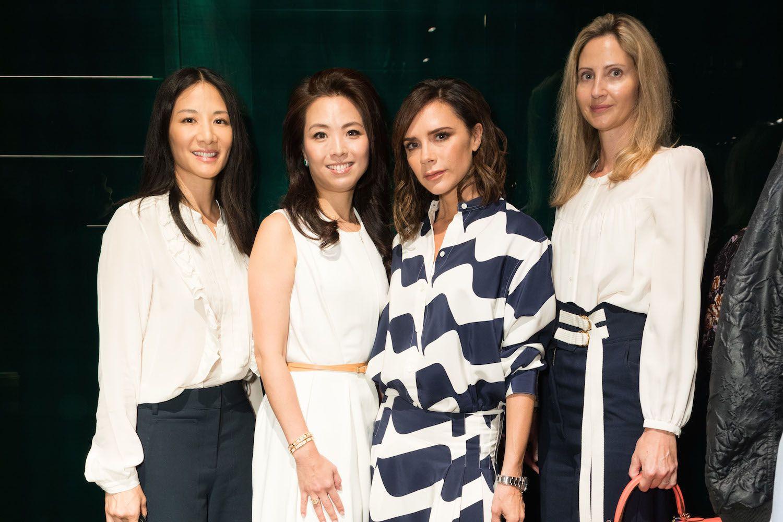Audry Ai-Morrow, Anne Wang-Liu, Victoria Beckham and Tamara Varga