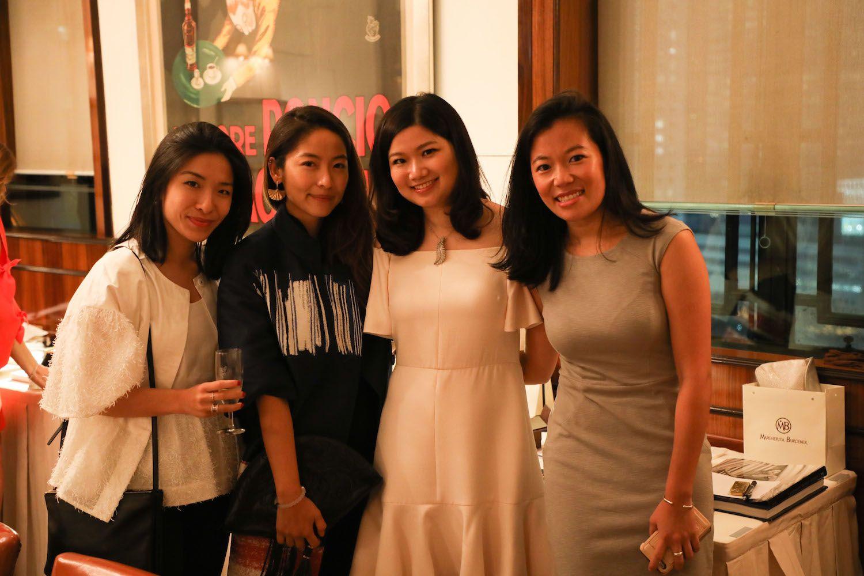 Lois Tien, Charlotte Hwang, Carmen Choi and Xixi Cheng