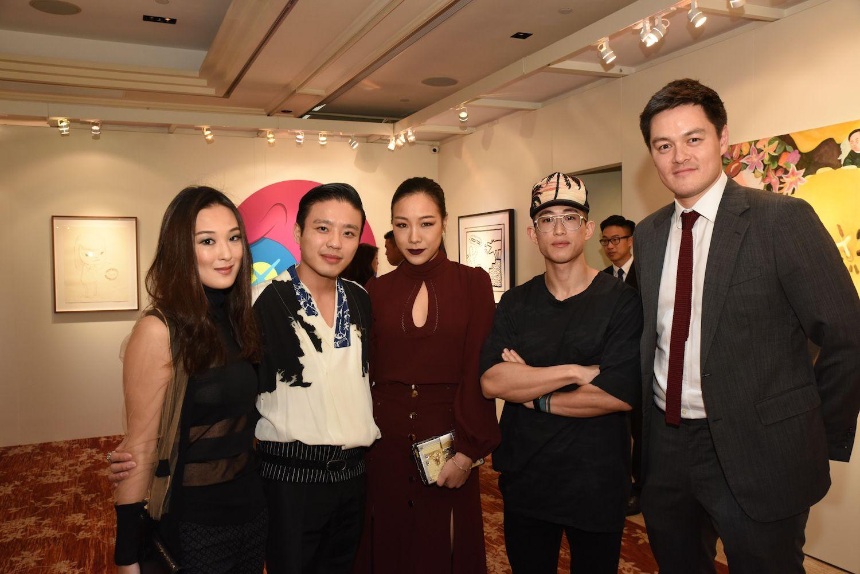 Antonia Li, Jonathan Cheung, Feiping Chang, Geoffrey Chuang and Jonathan Crockett
