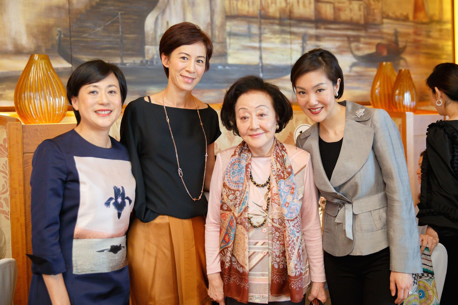Yvette Ho, Patricia Tung-Gaw, Sally Leung and Jane Chao-Lee
