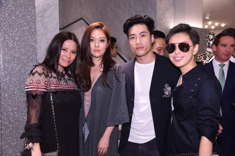 Yvette Yung, René Chu, Loui Lim and Tiffany Chan