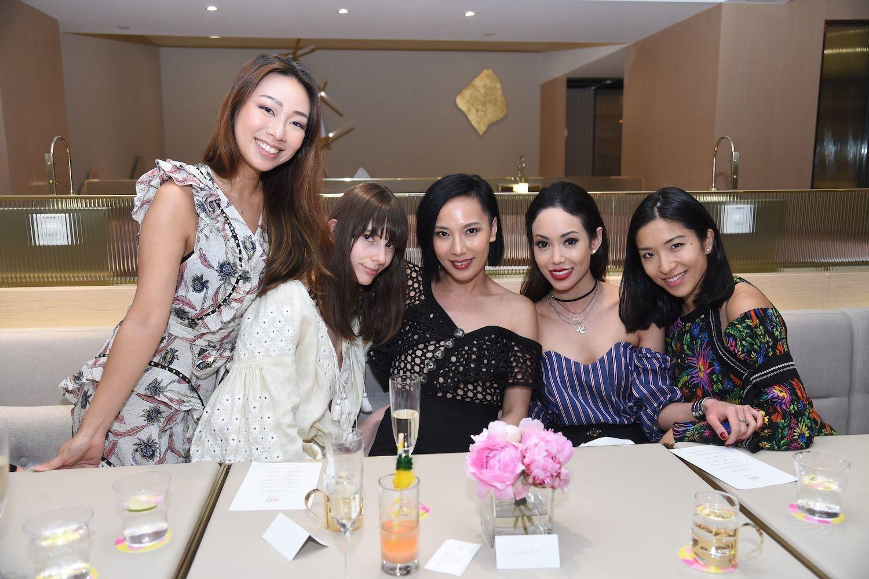 Veronica Lam, Lana Petrusevych, Jaime Ku, Yen Kuok and Lois Tien