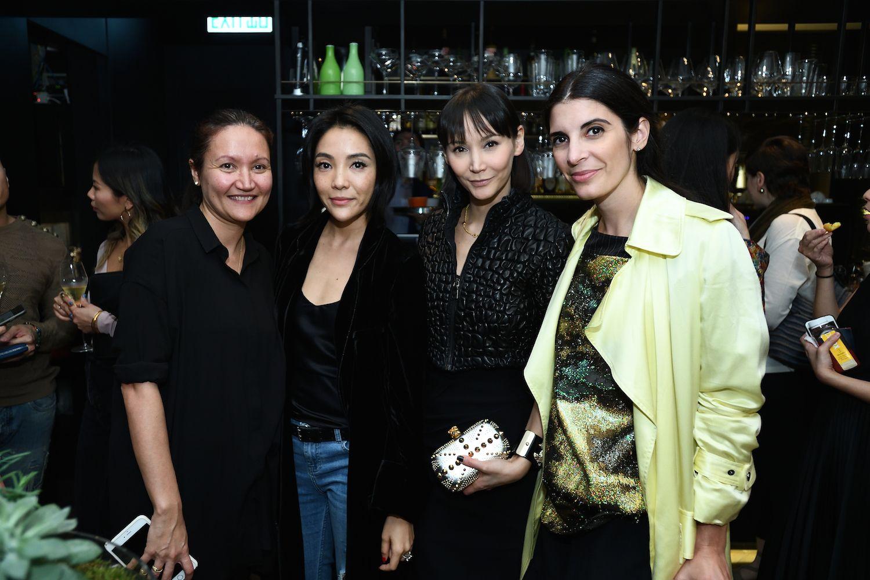 Marika Nanni, Sena Husband, Amanda Strang and Lucia Tait-Tolani