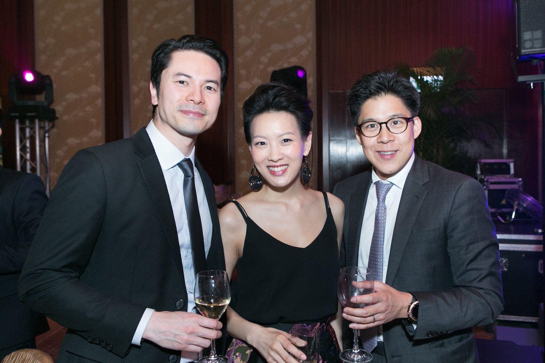 Gus Lee, Joyce Tam and Kenneth Fok