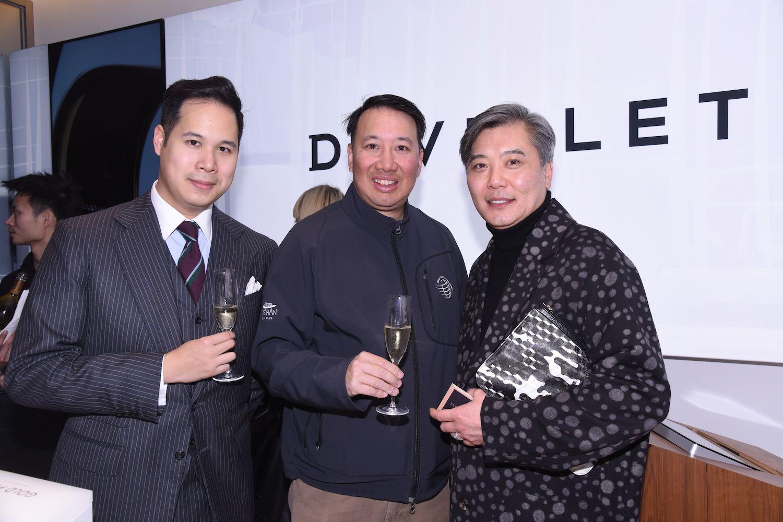 Brandon Chau, Derrick Fung and Peter Cheung