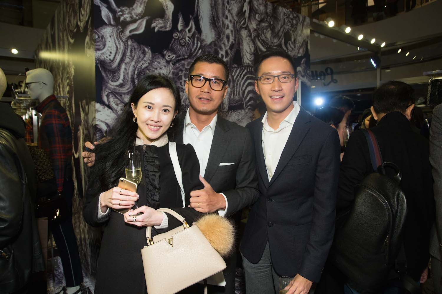 Jacqueline Chow, William Zhao and Evan Chow