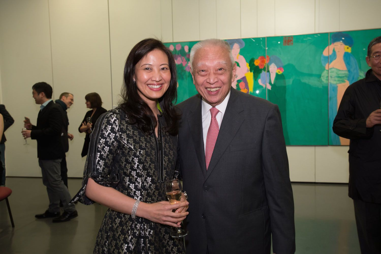 Daphne King-Yao and Tung Chee-hwa