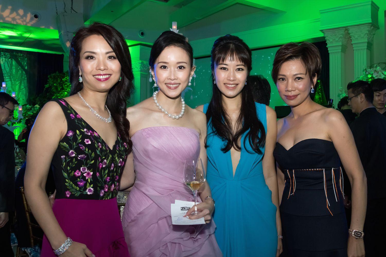 Anne Wang-Liu, Jacqueline Chow, Alanna Chow and Yvonne Ma