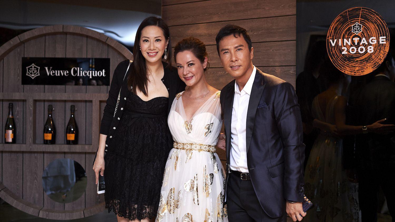 Cissy Wang, Amanda Lui and Donnie Yen