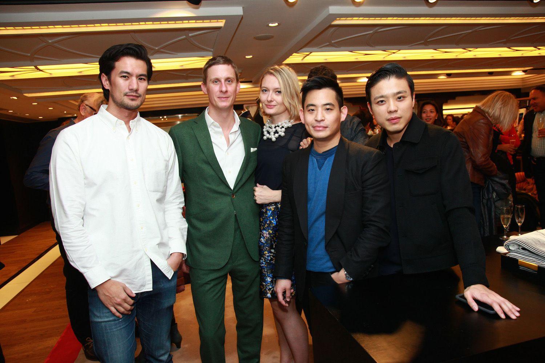 Mac Puckett, Jake Astor, Victoria Astor, Ivan Pun and Jonathan Cheung